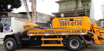 concreto bombeado Mix9000 Concreto